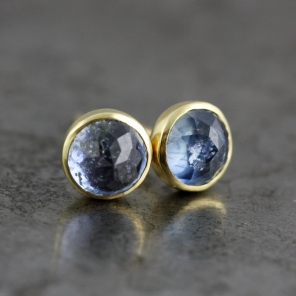 RoseCutBlueSapphireEarrings3